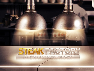 steak factory design web