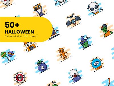 Halloween icons october