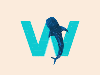 Whale Shark - 36 Days of Type