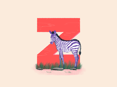 Zebra - 36 Days of Type