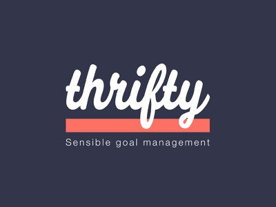 Thrifty goal management cit app ios thrifty