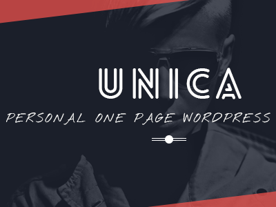 Unica - Personal Resume and Portfolio Theme