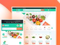 Organic Food and Grocery Shop WordPress Theme - GROCI
