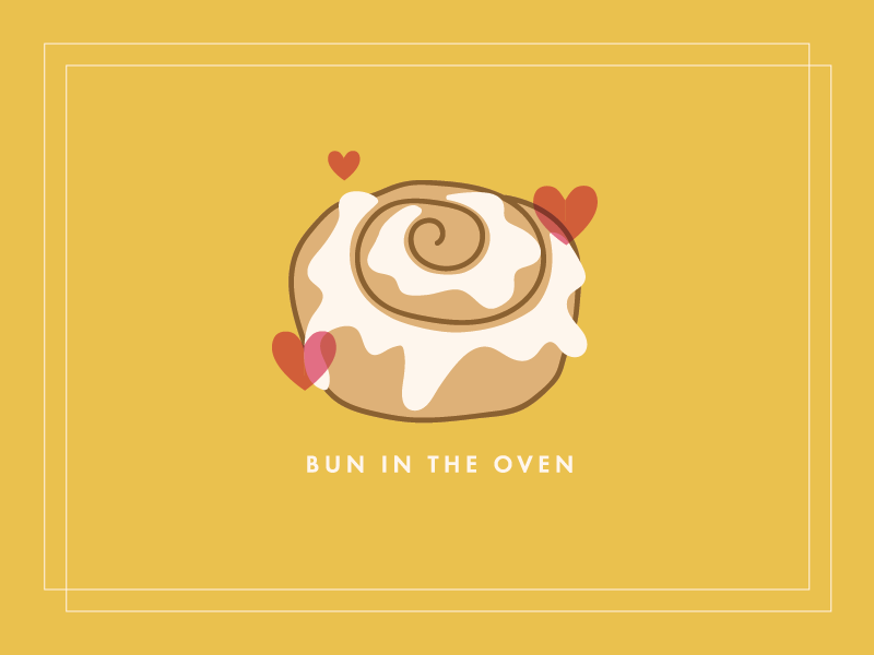 Bun In the Oven by Melanie Riley on Dribbble