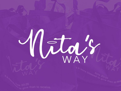 Nita's Way of Giving packaging design brand identity brand design graphic  design thanksgiving be kind logo christian food drive christmas donating giving back giving