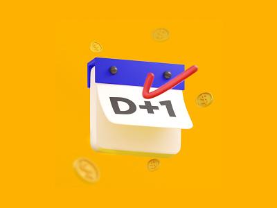 Callendar coins day pay date callendar