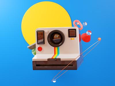 Moments design illustration polaroids photography photo camera polaroid