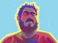 Self Portrait portrait painting portrait 2d illustration