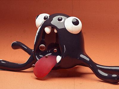 Alien Octopus search zbrush alien kraken octopus sea 3d