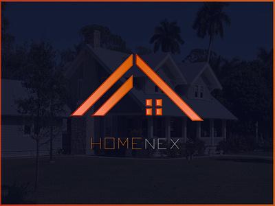 HOME logo logo for dribbble house logo home logo brand illustration creative logo brand identity logo designer gradient logo modern logo logos branding