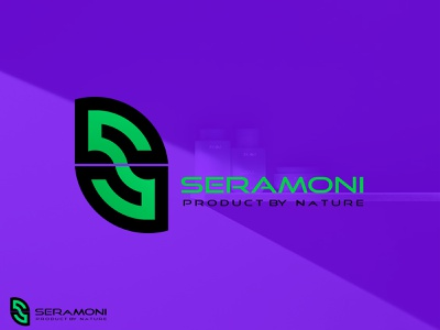 seramoni logo design product logo unique logo logo design trends 2021 symbol illustration graphic designer logos brandidentity branding creative logo modern logo minimal logo leaf logo s logo