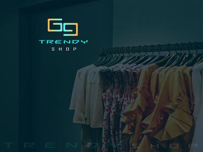 69 shop gradient logo minimalist logo brand identity