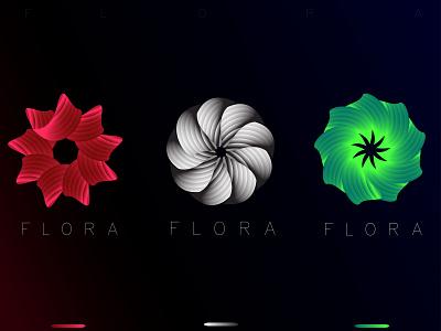 FLORA DESIGN brand creative logo designer logo mark graphic designer branding logos modern logo modern logotype illustraion logodesign