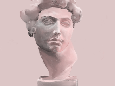 New classic sculpture illustration sculpture art artwork digitalart illustration digital painting artist