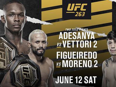 UFC 263 and UFC 264