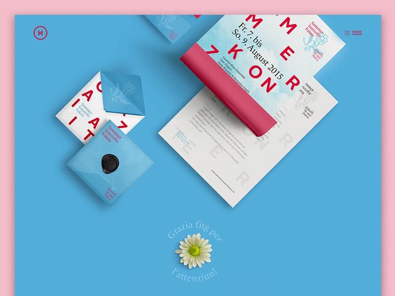 Portfolio redesign 2 web design ui shadow redesign blue portfolio minimal colorful branding