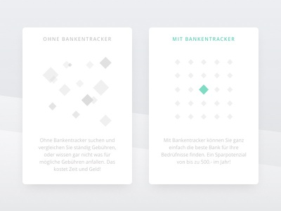 Card Illustration web ux ui sketch simple card clean squares illustration