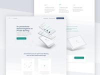 Banking Analyzer Landing Page