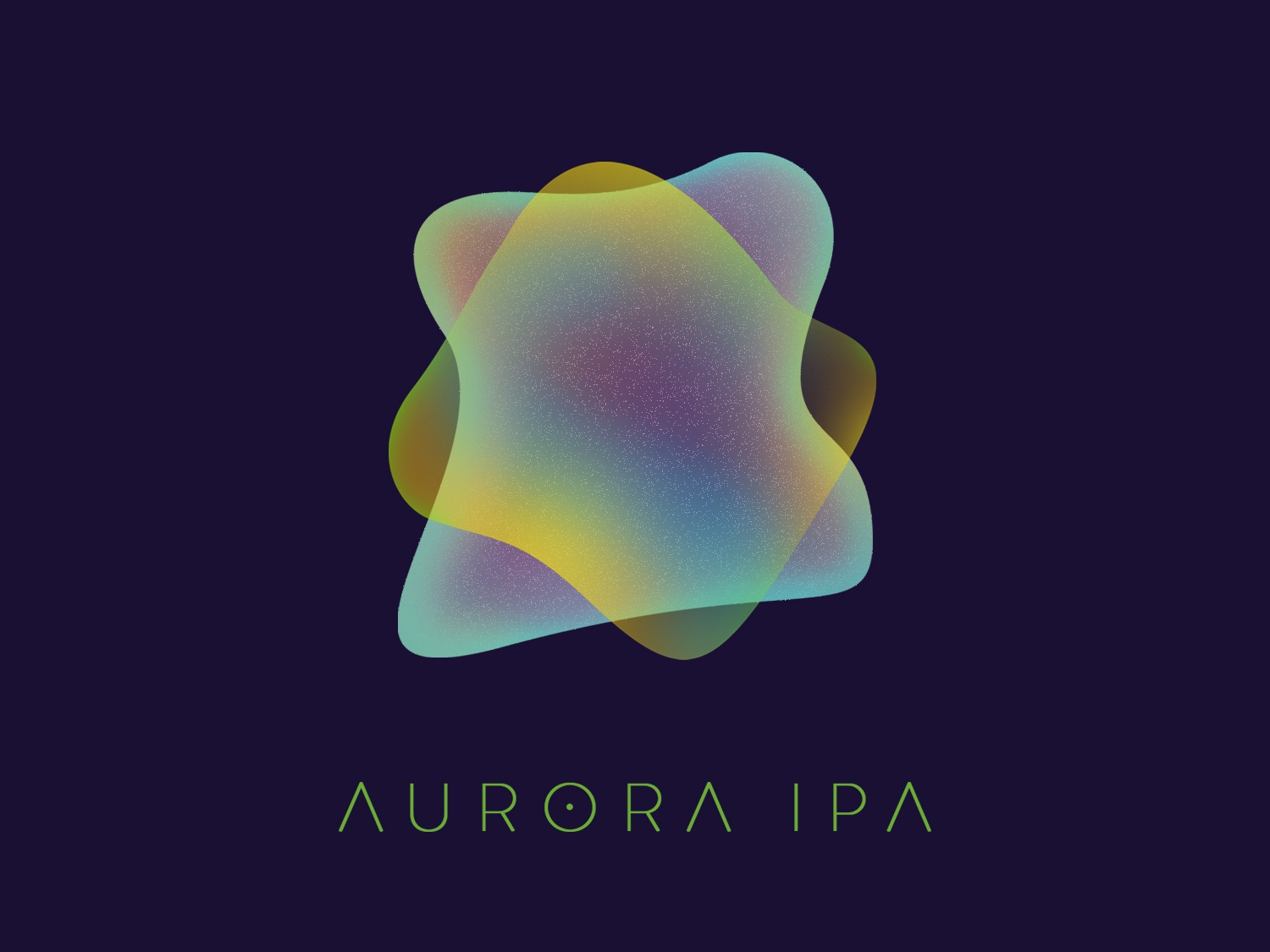 Aurora IPA Label label design label homebrewing beer mark brand design