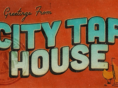 City Tap Postcard