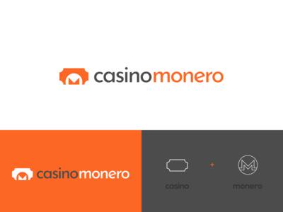 Casino Monero - Logo Design