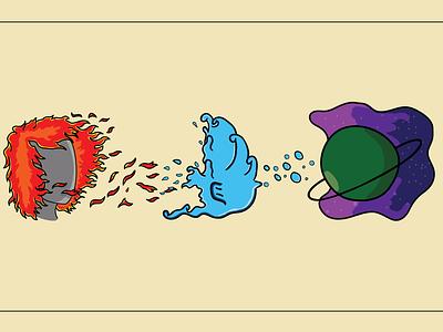 Person/ Place/ Thing graphic design art icon illustrator minimal vector logo illustration design