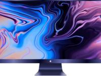 Apple display space blue