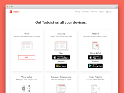 New Download Page Online todolistapp productivity doist todoist