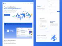 Twist Landing Page