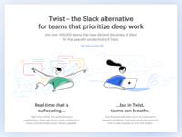 Twist vs Slack