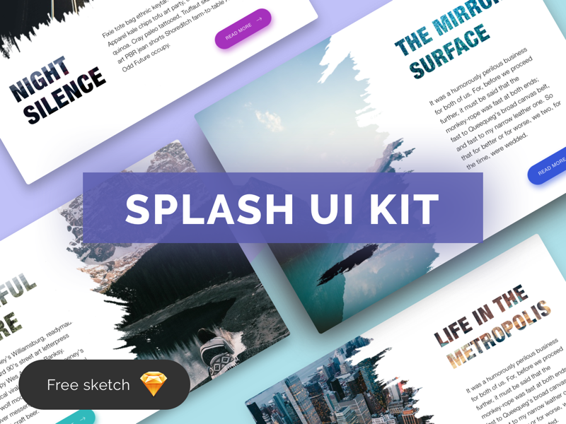 Download Splash Ui Kit