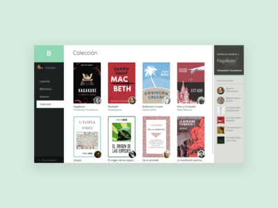 Boolky - Collection of your books