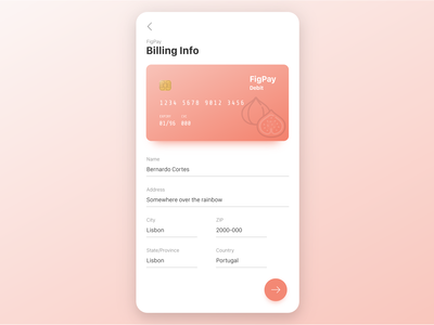 Credit Card Payment - Redesign from 2015 version