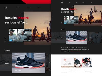 Risewear wear. modern black color webdesign web graphicdesign design ux ui