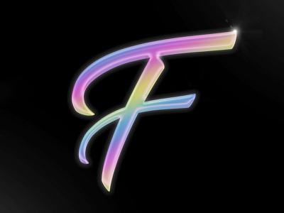 Letter F adobe photoshop 36daysoftype06 illustration typography 36daysoftype