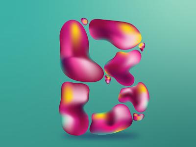 Letra B 36daysoftype02 illustration typedesign type art adobe illustrator typography 36daysoftype