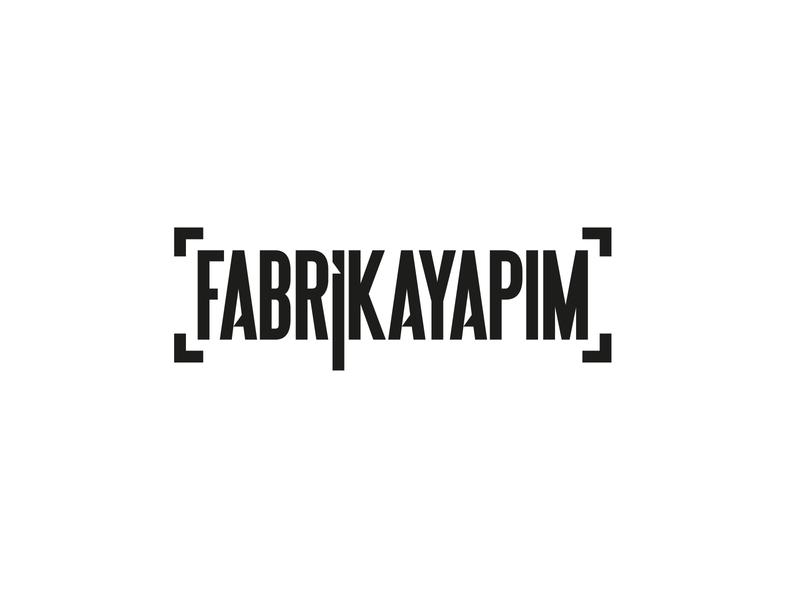 FABRİKAYAPIM Logotype Design web typography design branding color icon logo vector illustration fabrikayapim
