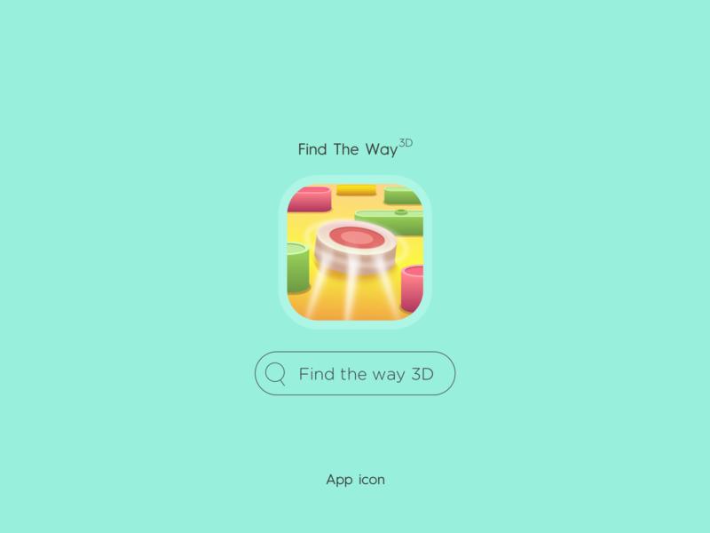 Find The Way (Visual Designs) game branding ui design color logo vector illustration uıdesign button appicon icon way the find