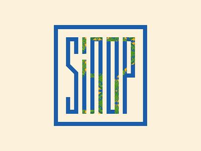 Sinop 57 - Typography turkey branding design color logo icon vector illustration typogaphy