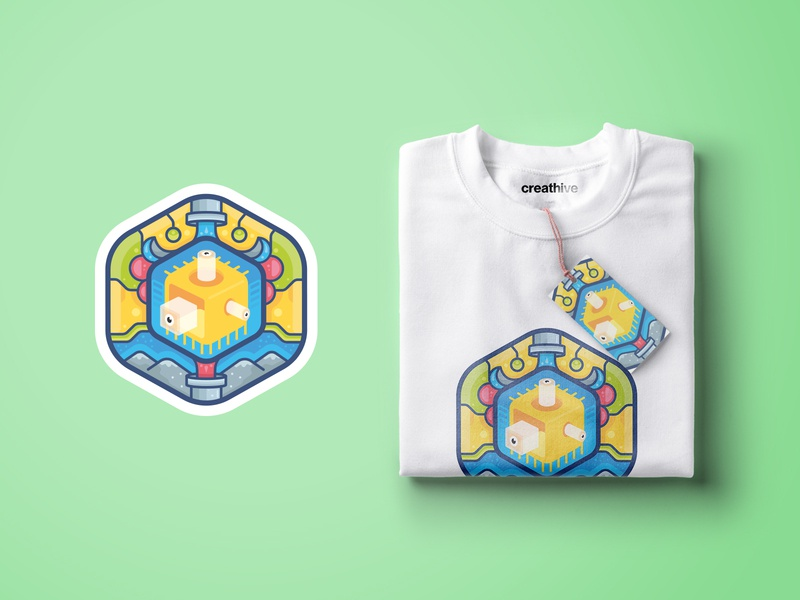 T-shirt design! branding apparel design color icon vector illustration logo tshirt