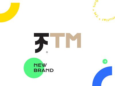 TM logo evolution! logodesign newbrand heart typography branding design icon vector illustration color brand logo mylogo