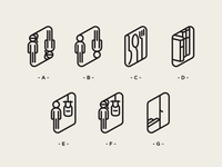 Cafe Orientation Icons