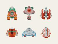 Speeder Spaceships