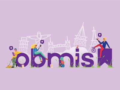 Obmis brand illustration