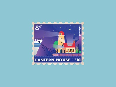 Lantern House postage stamp