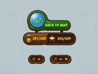 Bubble Pirates UI