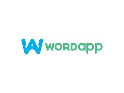 Wordapp Branding Story typography branding design logo icon vector illustration illustraion color branding design