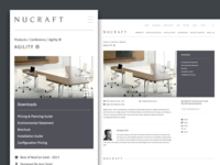 Nucraft Product Page