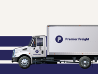 Premier Freight Logo Application
