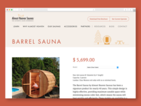 Almost Heaven Saunas: Product Page